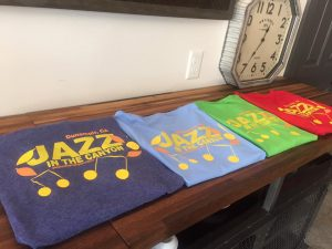 Jazz in the Canyon T-shirts
